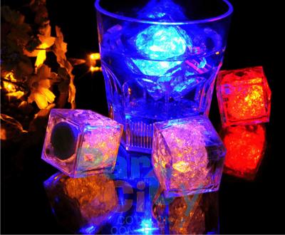 hielo luminoso