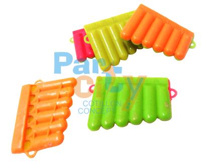 juego armónica de plastico con colgante