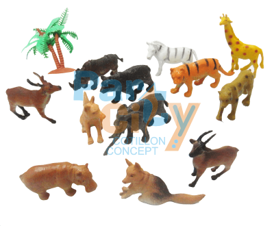 Animales en blister x12
