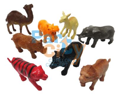 ANIMALES SALVAJES X8
