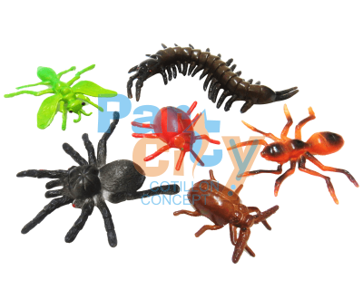 Animales en blister insectos x6