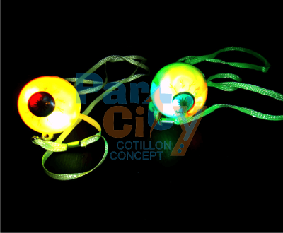 colgante ojo luminoso