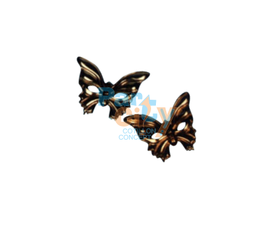 ANTIFAZ METAL MARIPOSA ENTERO X12