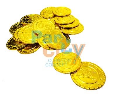 Monedas pirata de oro x24