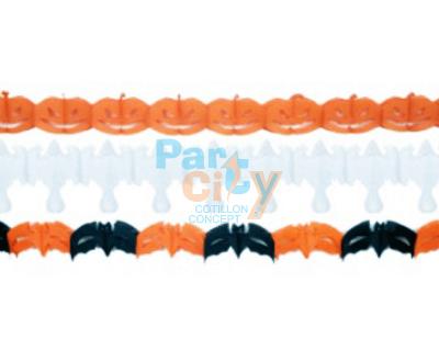 GUIRNALDA Halloween x3 de papel