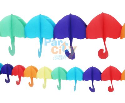 GUIRNALDA Papel Paraguas 20x400cm