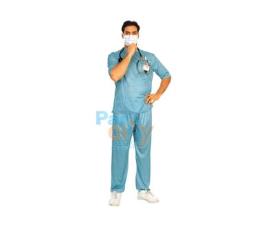 DISFRAZ ADULTO DOCTOR