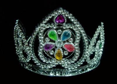 corona con luz
