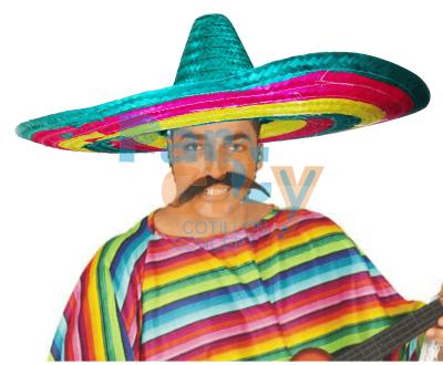 SOMBRERO PAJA MEXICANO