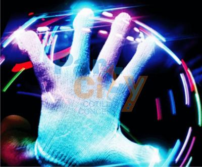 guantes con luz