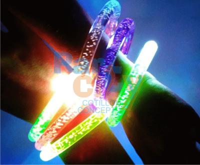 pulsera acrílica luminosa