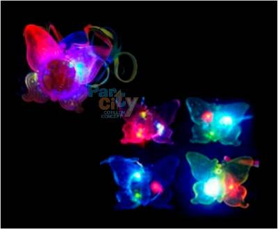 colgante mariposa luminoso
