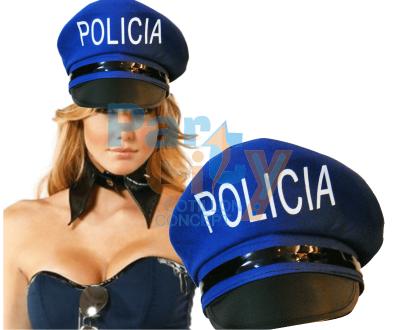 SOMBRERO POLICIA DE TELA